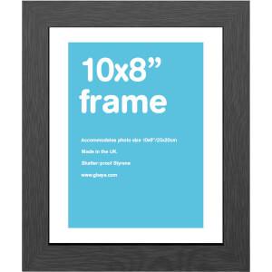 """Black Frame 10"""""""" x 8"""""""