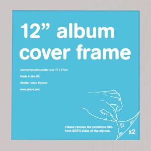 "Silver Frame Album - 12"""" x 12"""