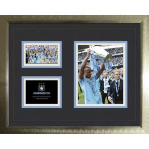 "Manchester City Premier League Winners 11/12 - High End Framed Photo - 16"""" x 20"""