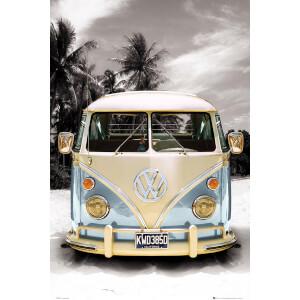 VW Californian Camper Beach - Maxi Poster - 61 x 91.5cm