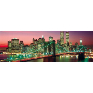 New York Manhattan Colour - Berenholtz - Midi Poster - 30.5cm x 91.5cm