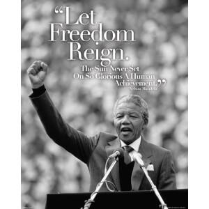 Nelson Mandela - Mini Poster - 40 x 50cm