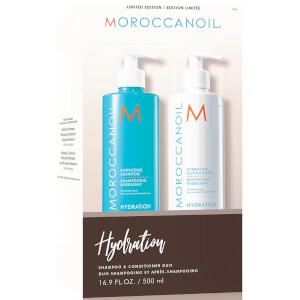 Moroccanoil Hydrating Shampoo & Conditioner Duo (2x500ml) (Worth £69.40)