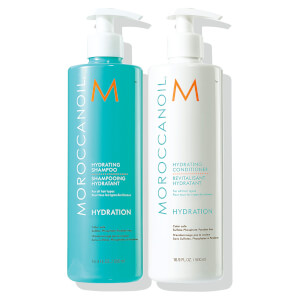 Moroccanoil Hydrating Shampoo & Conditioner Duo (2x500ml) (Worth £69.40)