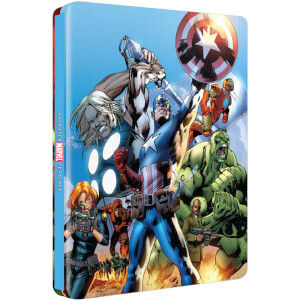 The Ultimate Avengers Collection - Zavvi UK Exclusive Limited Edition Steelbook (Limited Print Run)