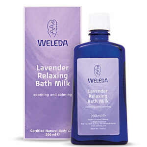 Weleda Lavender Relaxing mleczko do kąpieli (200 ml)