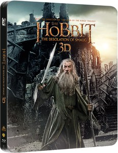The Hobbit: The Desolation of Smaug 3D - Edición Steelbook (Incluye Copia UltraVioleta)