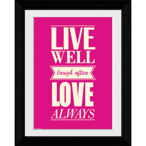 Live Love - Collector Print - 30 x 40cm