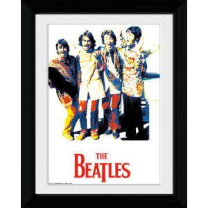 The Beatles Psychedelic - Collector Print - 30 x 40cm