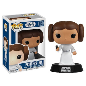 Figura Funko Pop! Princesa Leia Bobble-Head - Star Wars
