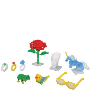 Nanoblock Transparent Colour Set