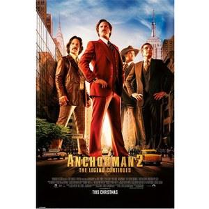 Anchorman 2 One Sheet - Maxi Poster - 61 x 91.5cm