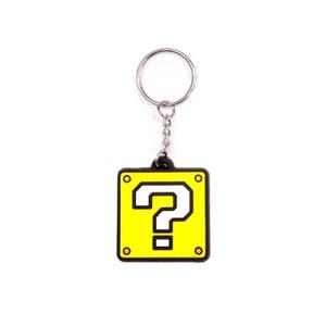 Question Block - Rubber Keychain