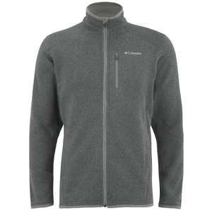 Columbia Men's Altitude Aspect Full Zip Fleece - Grey/Blue