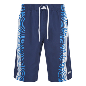 Zoggs Men's Tribal Power 21 Inch Swim Shorts - Navy