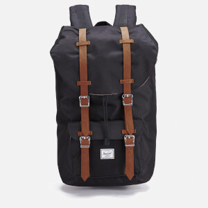 Herschel Supply Co. Men's Little America Backpack - Black/Tan