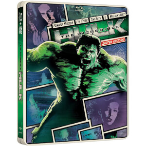 Incredible Hulk - Importación - Steelbook de Edición Limitada (Region Free)