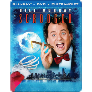 Scrooged: 25th Anniversary - Import - Limited Edition Steelbook (Region 1)