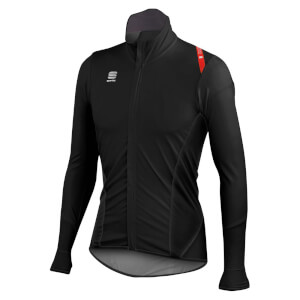 Sportful Fiandre Light No Rain Jersey - Black/Red