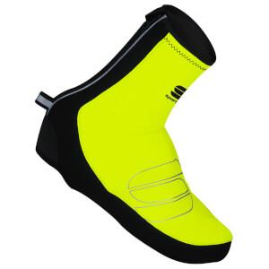 Sportful Reflex Windstopper Shoe Covers - Yellow Fluo/Black
