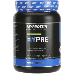 Myprotein Mypre Explosive Pre Workout Supplement 1.1-lb. Jar (Multi Flavor)