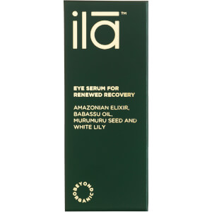 Восстанавливающая сыворотка для век Ila-Spa Eye Serum for Renewed Recovery 15 мл