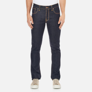 Nudie Jeans Men's Grim Tim Slim Straight Jeans - Dry Navy