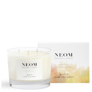 Bougie Parfumée 3 Mèches Happiness NEOM