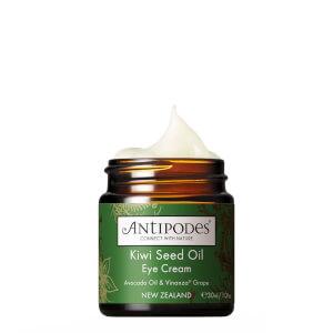 Crema contorno de ojos de aceite de kiwi Antipodes