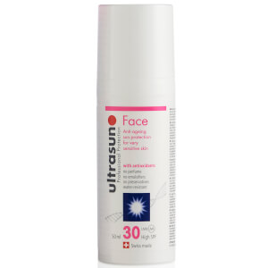 Face Sun Lotion Ultrasun com FPS 30 (50 ml)