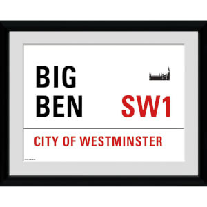 London Big Ben - 30x75 Collector Prints