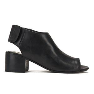 Hudson London Women's Iris Peep Toe Heeled Sandals - Black