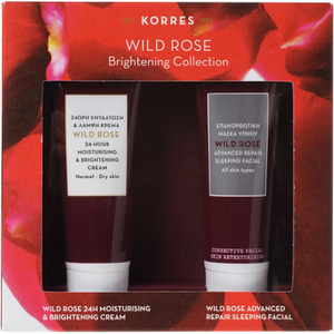 Korres Wild Rose Brightening Collection Kit ensemble éclaircissant