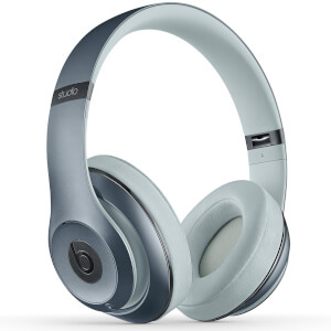 Beats By Dr. Dre: Studio 2.0 Noise Cancelling Wireless Headphones - Sky - Apple Refurbished