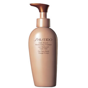 Shiseido Tägliche Bronze Moisturizing Emulsion (150 ml)