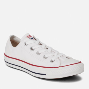 Converse Chuck Taylor All Star Ox Canvas Trainers - Optical White: Image 4