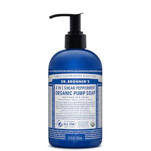 Dr Bronner's Organic Pump Soap Peppermint 355ml