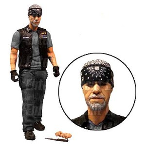 Sons of Anarchy Clay Morron with Accessories EE Exclusive 6 Inch Action Figure