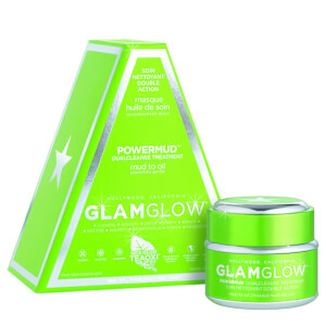 GLAMGLOW POWERMUD Dual Cleanse Mask Treatment (50 g): Image 1