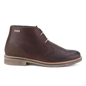 Barbour Men's Readhead Leather Chukka Boots - Dark Brown