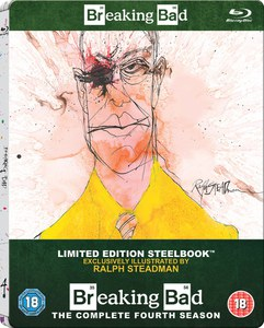 Breaking Bad: Season 4 - Zavvi Exclusive Limited Edition Steelbook