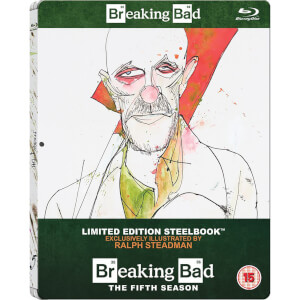 Breaking Bad: Season 5 - Zavvi Exclusive Limited Edition Steelbook