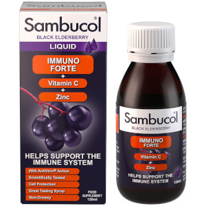 Suplemento Alimentar Immuno Forte da Sambucol (120 ml)