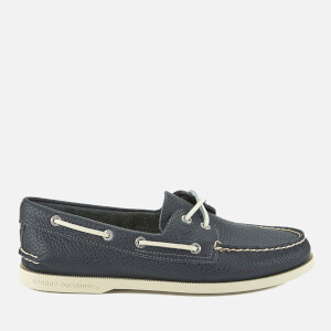 Sperry Men's A/O 2-Eye Leather Boat Shoes - Navy