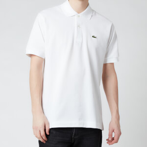 Lacoste Men's Classic Fit Polo Shirt - White