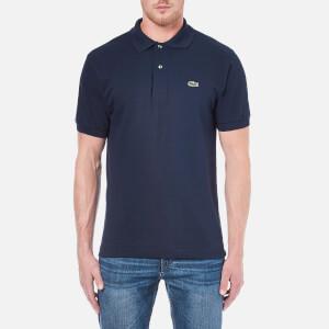 2932e31674 Lacoste Men's Basic Pique Short Sleeve Polo Shirt - Navy