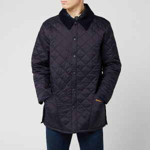 Barbour Men's Liddesdale Quilt Jacket - Navy