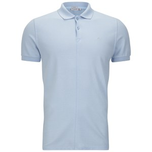 J.Lindeberg Men's Rubi Slim Fit Polo Shirt - Light Blue