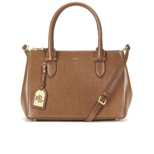 Lauren Ralph Lauren Women's Newbury Zip Shopper Bag - Lauren Tan