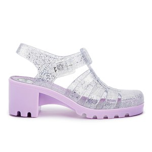 JuJu Women's Babe Heeled Jelly Sandals - Multi Glitter/Orchid